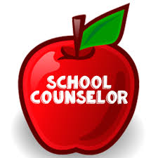 school counselor written in apple clip art